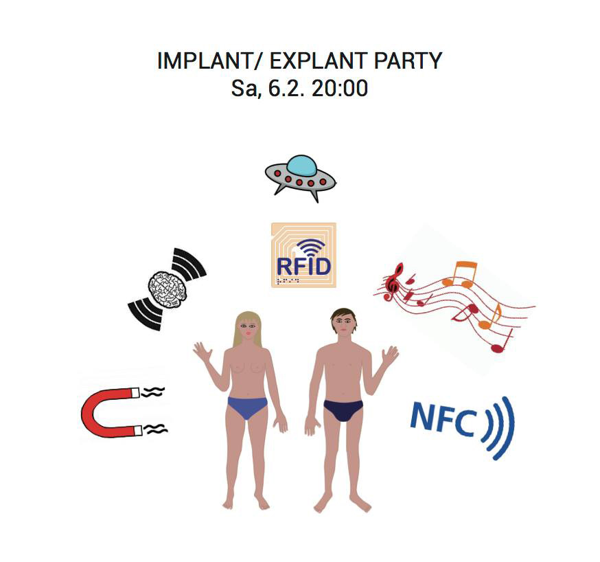 Poster of the implant party